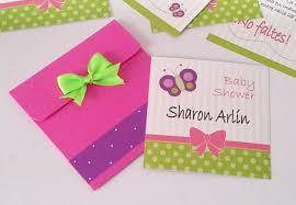 Invitaciones Para Baby Shower De Nina Tarjetas Caseras Tarjeta