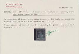 Stamp Auction - Italien - Altitalienische Staaten: Toscana - Sale ...