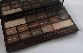 by chocolate palette review