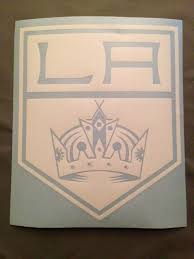 La Kings Decal Los Angeles Kings Hockey Crown Sticker Decal Go Kin Rkcreativeimpressions
