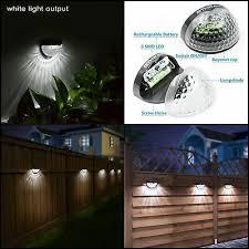 Black 2 Packs Othway Solar Fence Post Lights Wall Mount Decorative Deck Lighting Carbonbrushtechnology Co Za