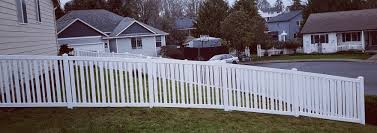 Outdoor Essentials Pro Series 4 Ftx 6 Ft Evanston White Vinyl Spaced Picket Fence Panel Hb Fence Decking Construction Click Here