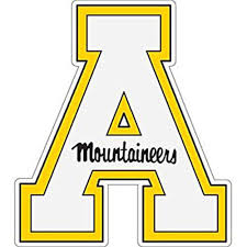 Appalachian State Mountaineers Dad Car Decal For Sale Online Ebay