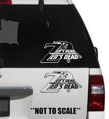 For Zed S Dead Sticker Vinyl Decal Pulp Fiction Butch Quentin Tarantino Mia Wallace Various Sizes Car Stickers Aliexpress