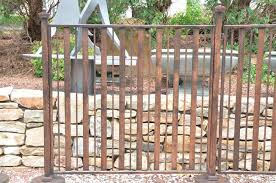 Contempo Wrought Iron Gate Fence Posts Gardenaccents