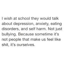 school makes me feel worthless school makes me depressed quotes