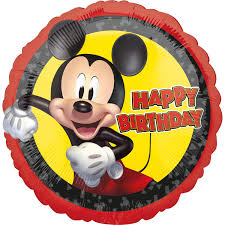 Standard Mickey Mouse Forever HBD Foil Balloon S60 Packaged ...