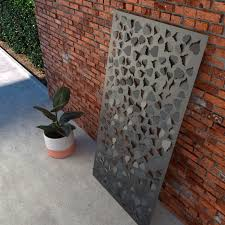 metal garden screens lump sculpture