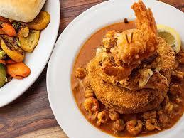cajun food and creole food