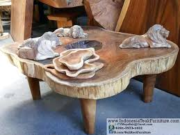 balinese wooden coffee tables