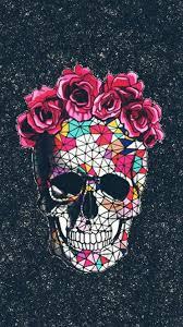 sugar skull iphone x wallpapers