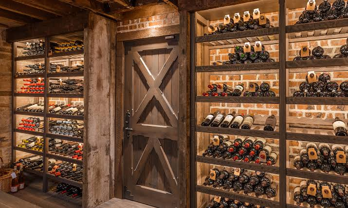 custom wine storage rack