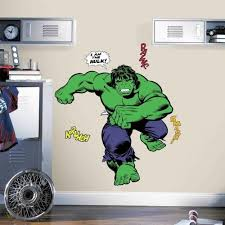 42 Classic Incredible Hulk Comic Giant Wall Decals Boys Superhero Room Decor 1860654486