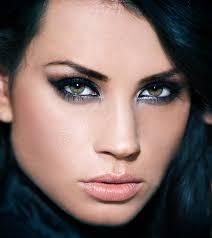how to apply black eye makeup simple