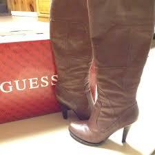 gwpozine medium brown leather boots