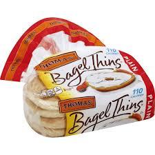 thomas plain bagel thins green way