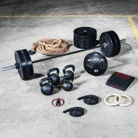 garage gym equipment packages rogue