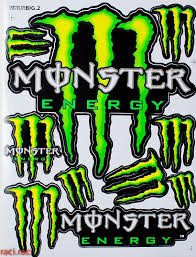 Large Green Monster Energy Claws Sticker Decal Supercross Motocross Bike Atv Bmx Racing Skateboard Helmut L2 O Monster Energy Supercross Monster Energy Monster