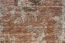 old brick wall stock