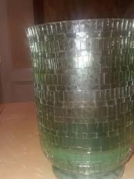 pillar candle hurricane lamp glass