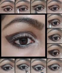 eye makeup tutorial cut crease brown