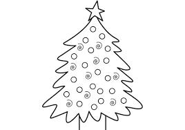 Kerst Kleurplaat Kerstboom Met Ballen Medium Voorjougespot Nl