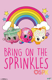 Shopkins Sprinkles Poster Contemporary Kids Wall Decor By Trends International