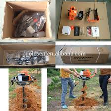 52cc 1700w Hand Held Manual Fence Post Hole Digger Drilling Machine Portable Ground Hole Drill Earth Auger China Manufacturer