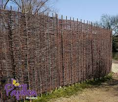 Woven Willow Hurdle Fence Panel 6ft Natural Garden Fencing Screening 5 Heights Ebay