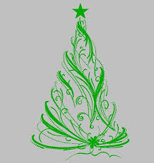 Christmas Tree 23 Die Cut Vinyl Wall Window Decal Sticker Sticky Addiction