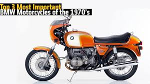 bmw motorcycles of the 1970s