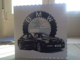 Sons 50 Th Birthday Card Surprise He Is A Bmw Man Birthday
