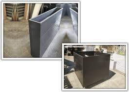 plastic planter boxes for landscape and