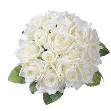 artiflr artificial flowers rose bouquet
