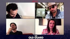 Marwen Kenzari, Matthias Schoenaerts, & Luca Marinelli Talk The Old Guard -  YouTube