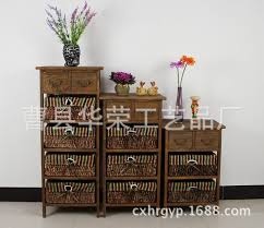 factory direct white wood nightstand