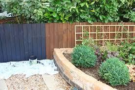ghastly orange fences cuprinol garden