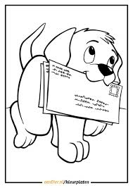 Kleurplaten Hondje Kleurplaat