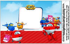 Super Wings Etiquetas Para Candy Bar Para Imprimir Gratis