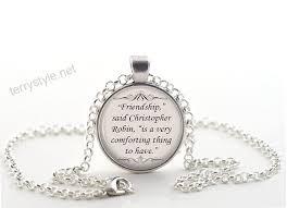 necklace silver christopher robin e