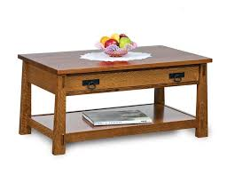 42 modesto mission coffee table from
