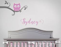 Branch And Hanging Name Wall Decal With Birds And Birdhouse Tree Decal Surface Inspired Home Decor Wall Decals Wall Art Wooden Letters