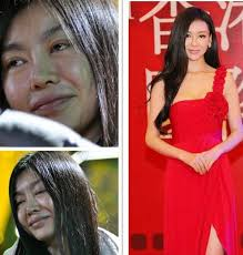 chinese actresses before and after