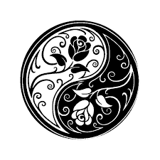 2020 15 15cm Die Cut Vinyl Decal Ying Yang Rose Fashion Personality Creativity Car Accessories Car Sticker From Xymy777 2 01 Dhgate Com
