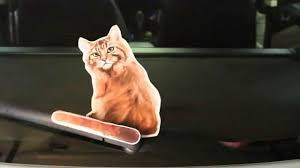 Maine Coon Cat Wagging Wiper Car Decal Sticker Youtube