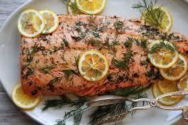 salmon roasted in er recipe nyt