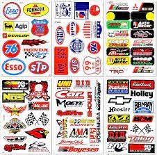Amazon Com Motorsport Cars Nos Off Road Oil Nhra Drag Racing Lot 6 Graphic Vinyl Decals Stickers D6054 Automotive