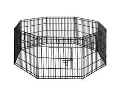 I Pet 24 Inch 8 Panel Pet Dog Playpen Puppy Exercise Cage Enclosure Pl Everyday Pets