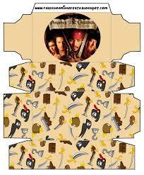 Cajitas Imprimibles De Piratas Del Caribe Ideas Y Material Gratis Para Fiestas Y Celebraciones Oh My Fiesta