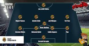ลาลีกา2สเปน (Spanish Segunda División : Liga Adela] กิมนาสติก VS ลูโก้